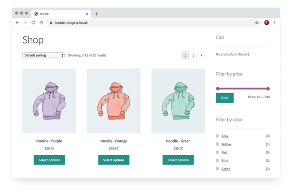 How to display variations as separate shop products